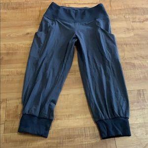 LUCY Full Potential Capri Gray Jogger pants XS